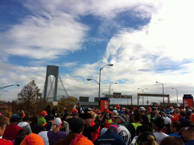 Start New York Marathon