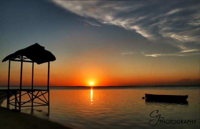 Claudia Gamma Sonnenuntergang