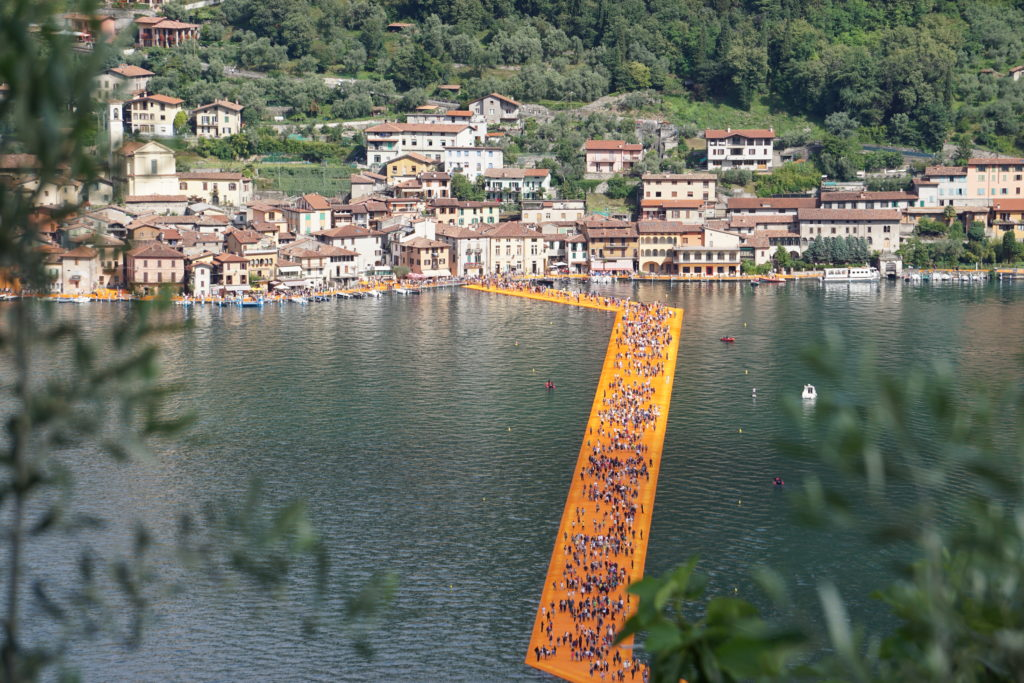 floating piers view