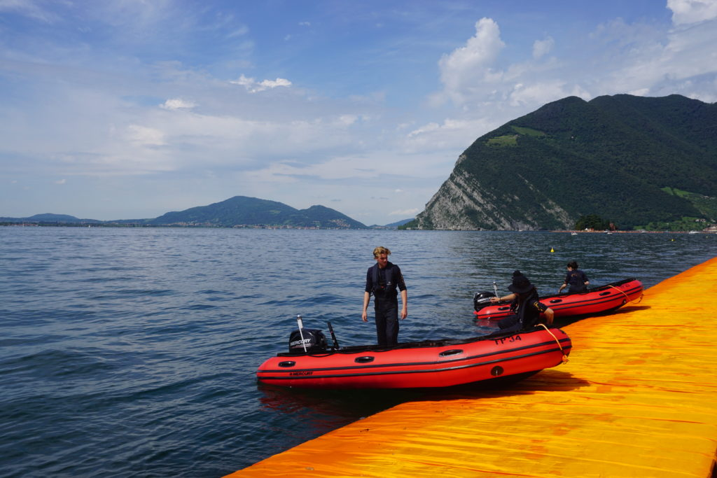 floating piers boot