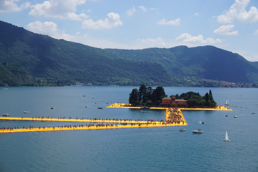floating piers above