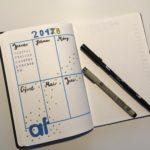 Den Alltag organisieren, die Zukunft planen - mit dem Bullet Journal