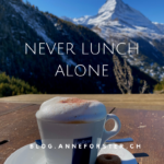 Never lunch alone!